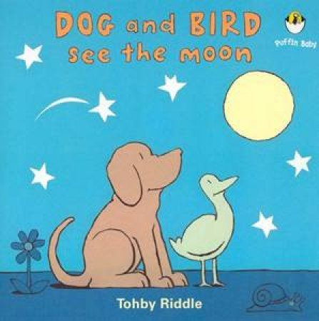 Dog And Bird See The Moon by Tohby Riddle