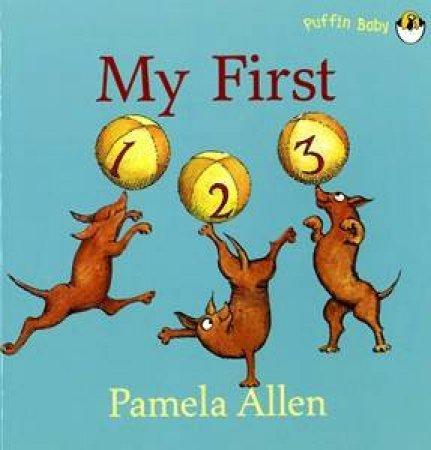 My First 123 by Pamela Allen