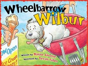 Wheelbarrow Wilbur by Narine Groome