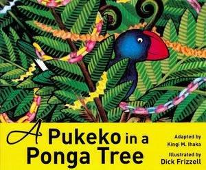 A Pukeko in a Ponga Tree by Kingi Ihaka