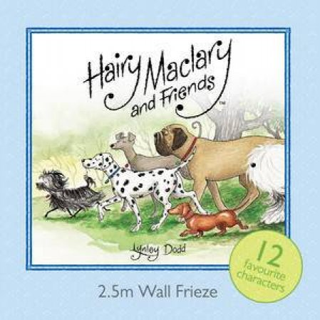 The Hairy Maclary Frieze by Lynley Dodd