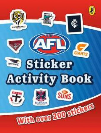 AFL Sticker Activity Book by Various