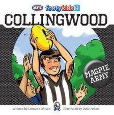 AFL: Footy Kids: Collingwood by Lorraine Wilson