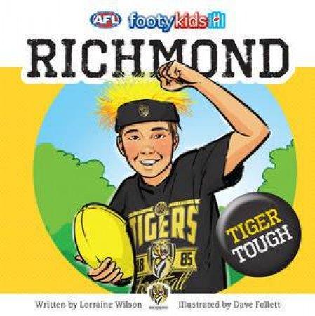 AFL: Footy Kids: Richmond by Lorraine Wilson