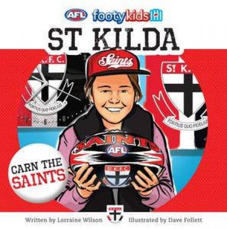 AFL: Footy Kids: St Kilda by Lorraine Wilson