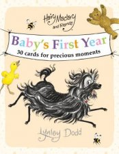 Hairy Maclary And Friends Babys First Year Cards