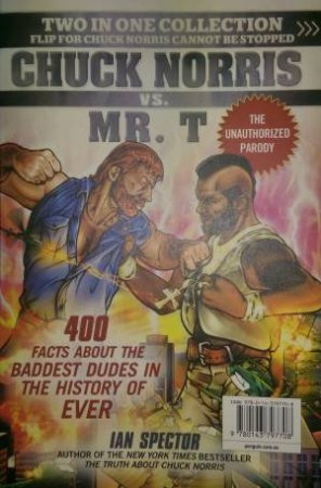 Chuck Norris Vs. Mr. T/ Chuck Norris Cannot Be Stopped (Bind-up Edition)