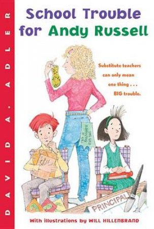 School Trouble for Andy Russell by ADLER DAVID A.