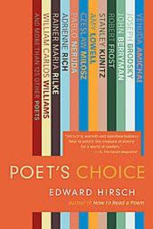 Poet's Choice by HIRSCH EDWARD
