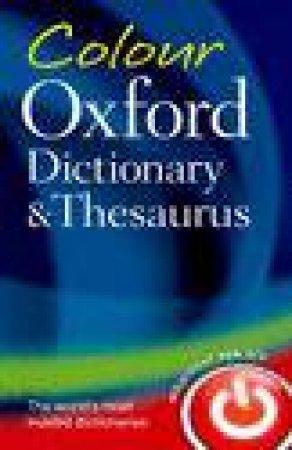 Colour Oxford Dictionary & Thesaurus