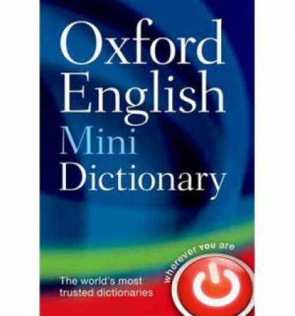Oxford English Mini Dictionary 8 ed. by Various