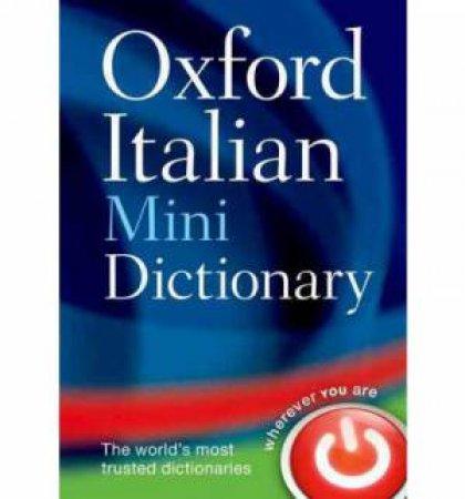 Oxford Italian Minidictionary 5 ed. by Various