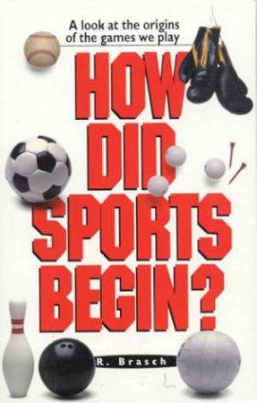 How Did Sports Begin? by Rabbi Rudi Brasch