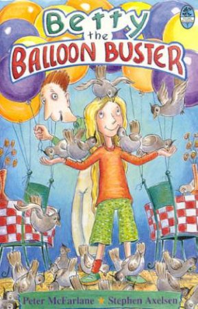 Young Bluegum: Betty The Balloon Buster by Peter McFarlane