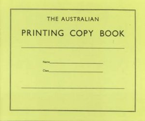 The Australian Printing Copy Book by Various