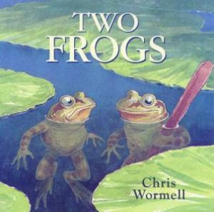 Two Frogs by Chris Wormell