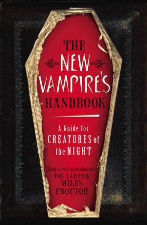 New Vampire Handbook by Miles Proctor