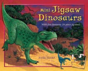 Mini Jigsaw Dinosaurs by Anne Sharp