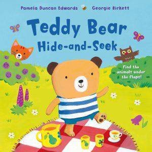 Teddy Bear Hide-And-Seek by Pamela Edwards
