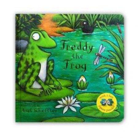 Freddy the Frog Jigsaw Book by Axel Scheffler