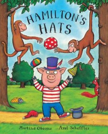 Hamilton and His Hats by Martine Oborne