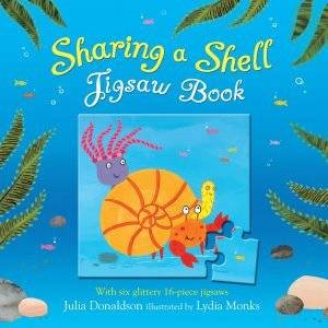 Sharing A Shell Jigsaw Book by Julia Donaldson
