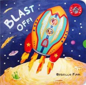 Busy Book Blast Off by Rebecca Finn