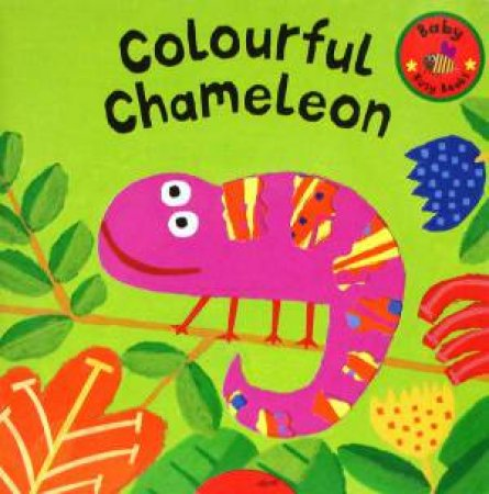 Baby Busy Books: Colourful Chameleon by David Sim