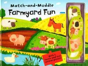Match and Muddle: Farmyard Fun by Ian Cunliffe