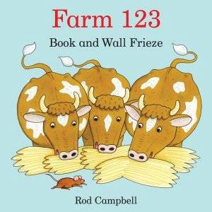Farm 123 Book And Wall Frieze by Rod Campbell