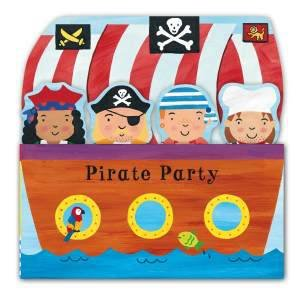 Tip Top Tabs: Pirate Party by Rachel Fuller
