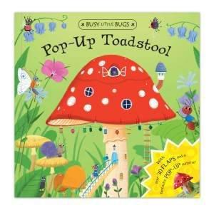 Busy Little Bugs: Pop-Up Toadstool by Benji Davis