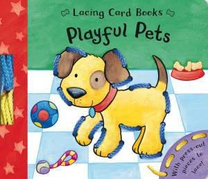 Lace and Learn: Playful Pets by Caroline Davis.