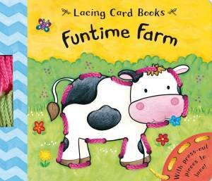 Lace and Learn: Funtime Farm by Caroline Davis