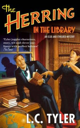 Herring in the Library by L C Tyler