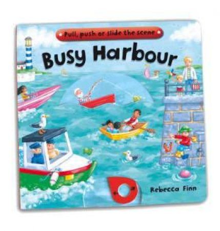 Busy Harbour by Rebecca Finn