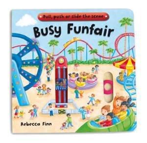 Busy Funfair by Rebecca Finn