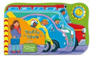 Super Sound Books: Traffic Town by Dan Crisp
