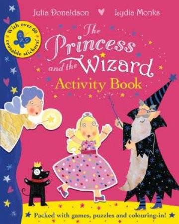 Princess and The Wizard Activity Book by Julia Donaldson
