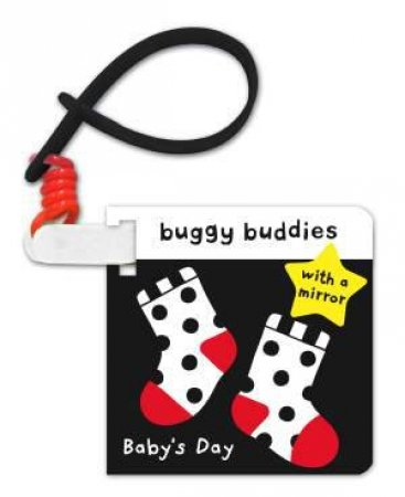 Black and White Buggy Buddies: Baby's Day by Jo Moon