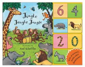 Jingle Jangle Jungle Dominoes! by Axel Scheffler