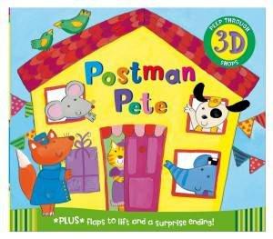 Peep Through Pop Ups Postman Pete by Kay Widdowson