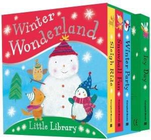 Winter Wonderland Little Library by Dubravka Kolanovic