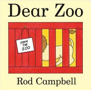 Dear Zoo Cased Board Book by Rod Campbell
