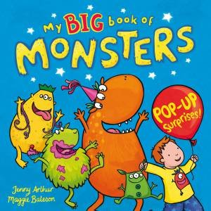 My Big Book of Monsters by Maggie Bateson & Jenny Arthur