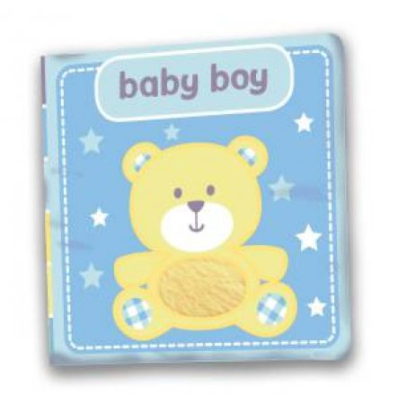 Baby Boy Cloth Book by Laila Hills