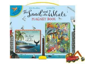 The Snail and the Whale Magnet Book by Julia Donaldson