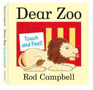 Dear Zoo Touch and Feel Book by Rod Campbell