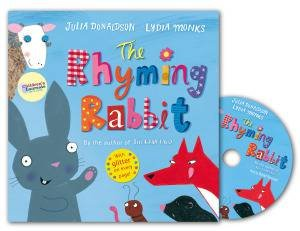 The Rhyming Rabbit Book and CD Pack by Julia Donaldson & Lydia Monks