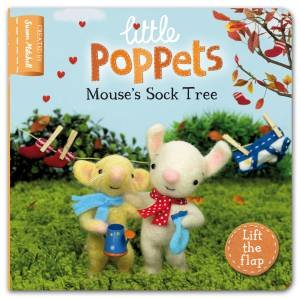 Little Poppets: Mouse's Sock Tree by Paula  Metcalf & Susan Mitchell